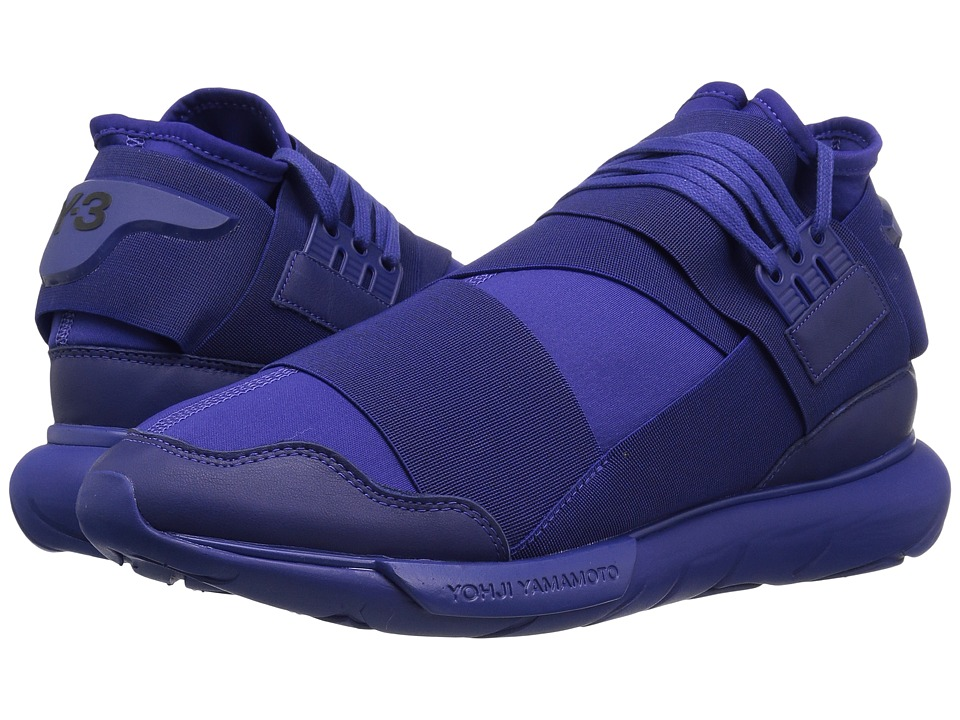adidas Y-3 by Yohji Yamamoto - Y-3 Qasa High (Amazon Purple/Amazon Purple/Amazon Purple) Men's Shoes