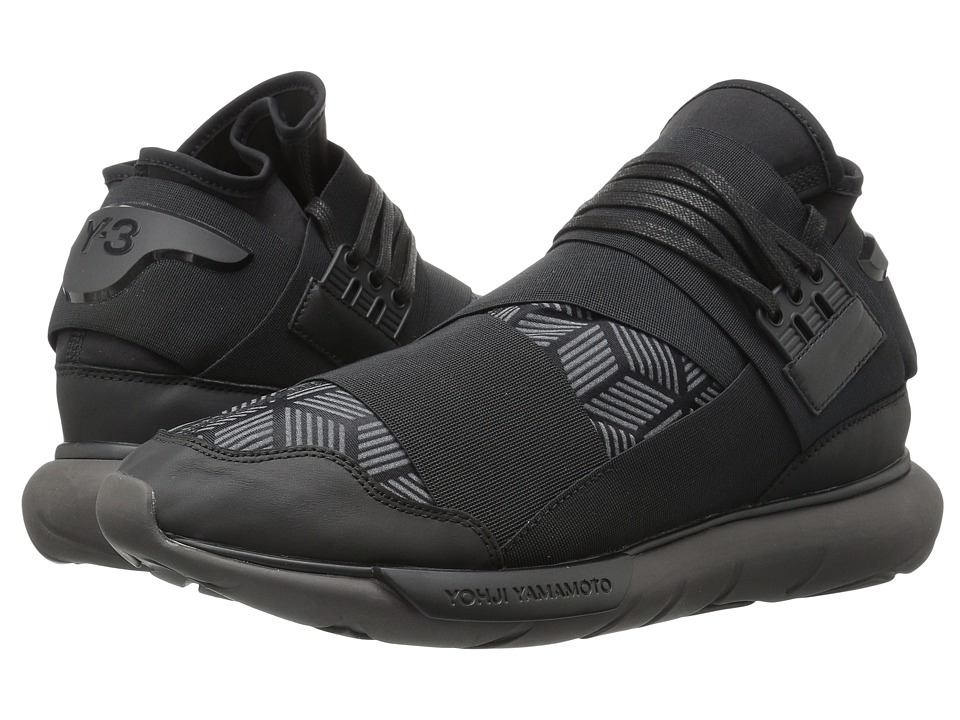 adidas Y-3 by Yohji Yamamoto - Y-3 Qasa High (Core Black/Utility Black/Core Black) Men's Shoes