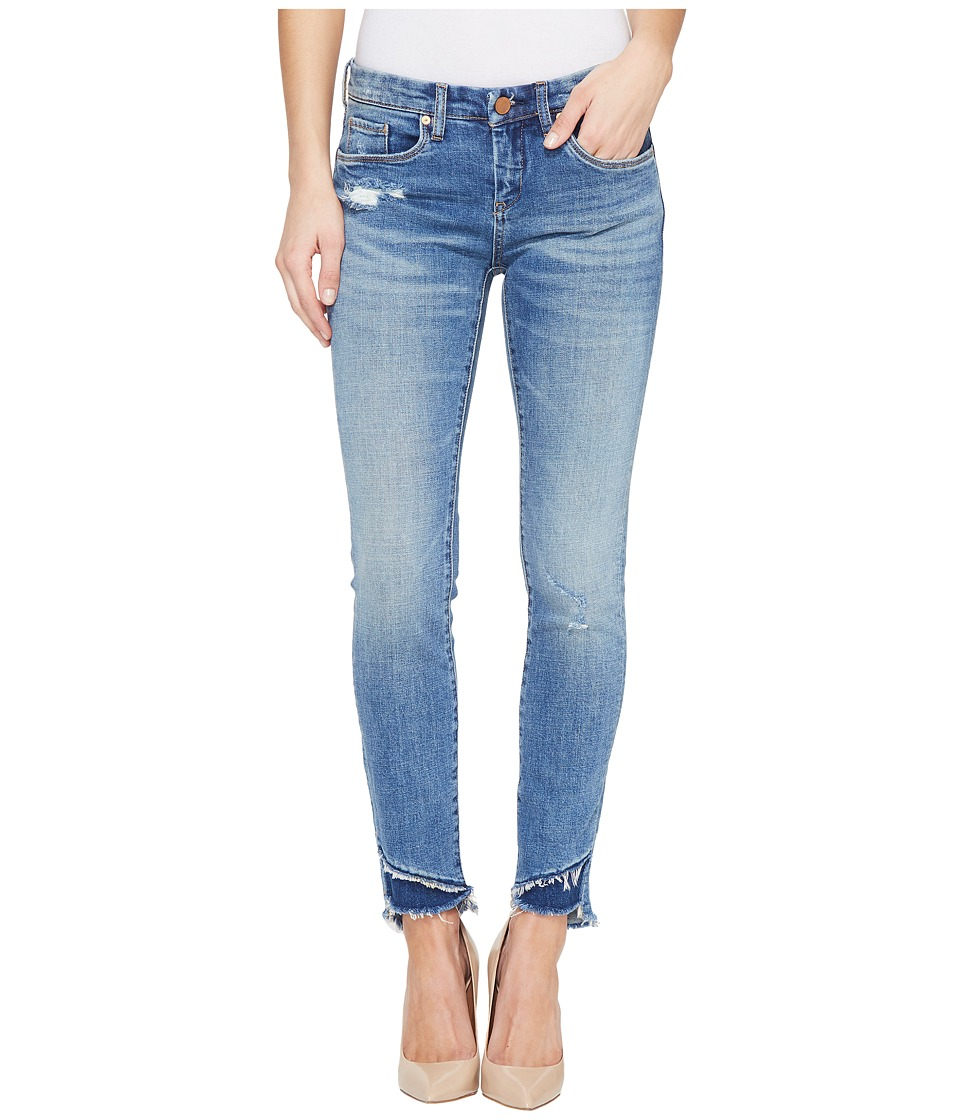 Blank NYC - Distressed Frayed Bottom Skinny in App Happy (App Happy) Women's Jeans