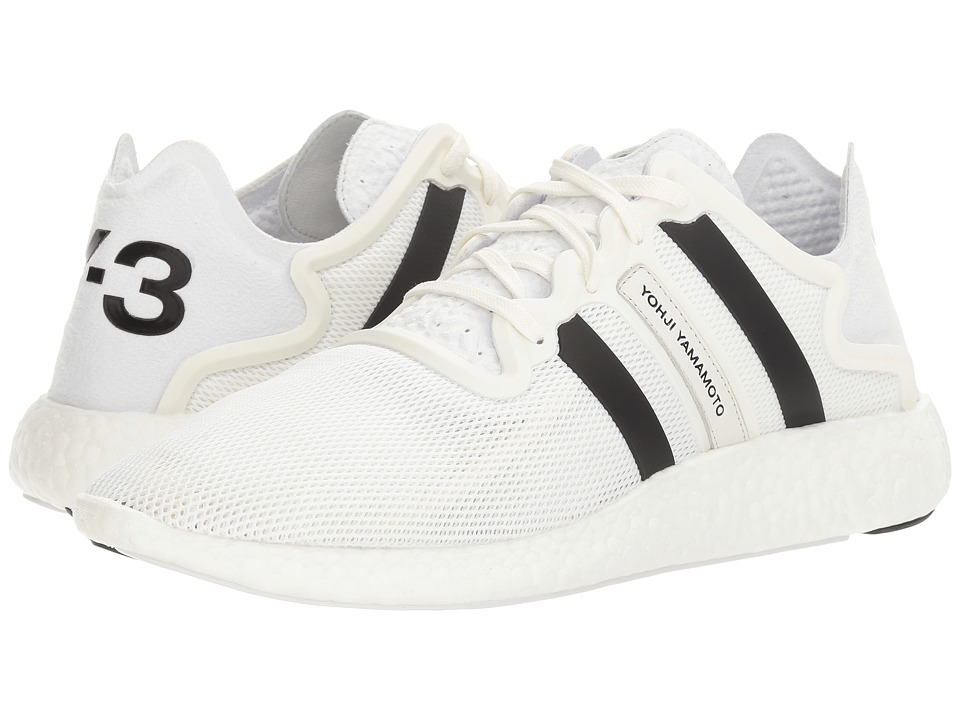 adidas Y-3 by Yohji Yamamoto - Y-3 Yohji Run (Footwear White/Crystal White/Core Black) Shoes