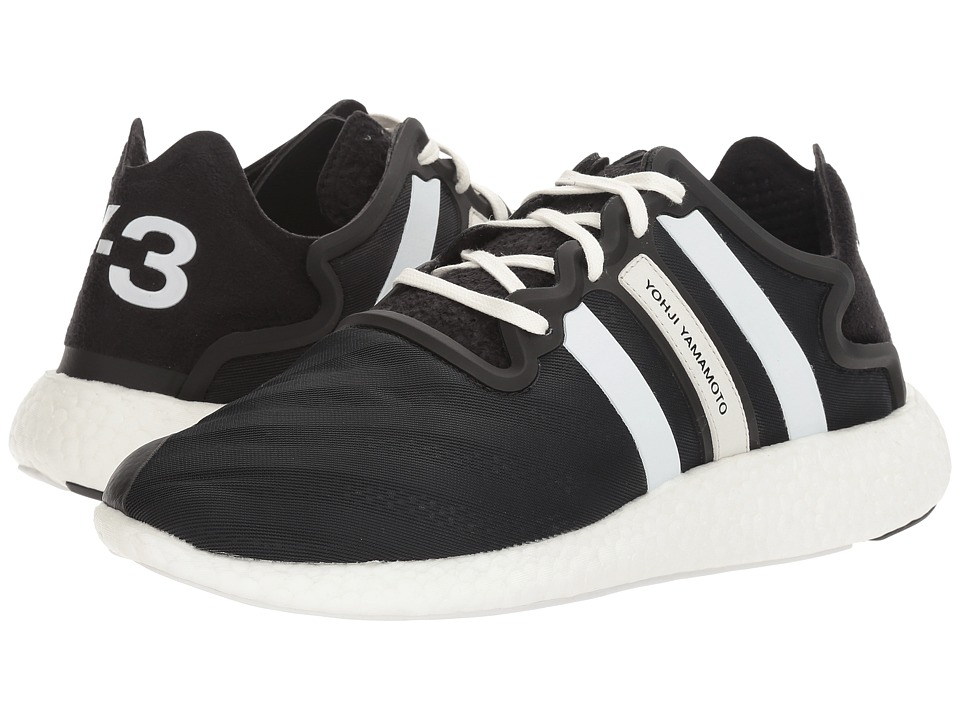 adidas Y-3 by Yohji Yamamoto - Y-3 Yohji Run (Core Black/Footwear White/Core Black) Shoes