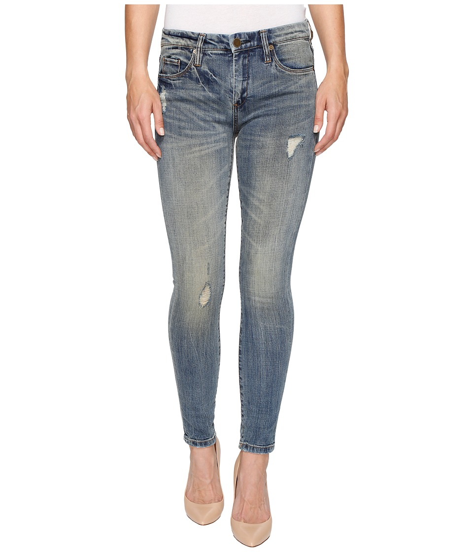 Blank NYC - Denim Mid-Rise Distressed Skinny in Game Over (Game Over) Women's Jeans