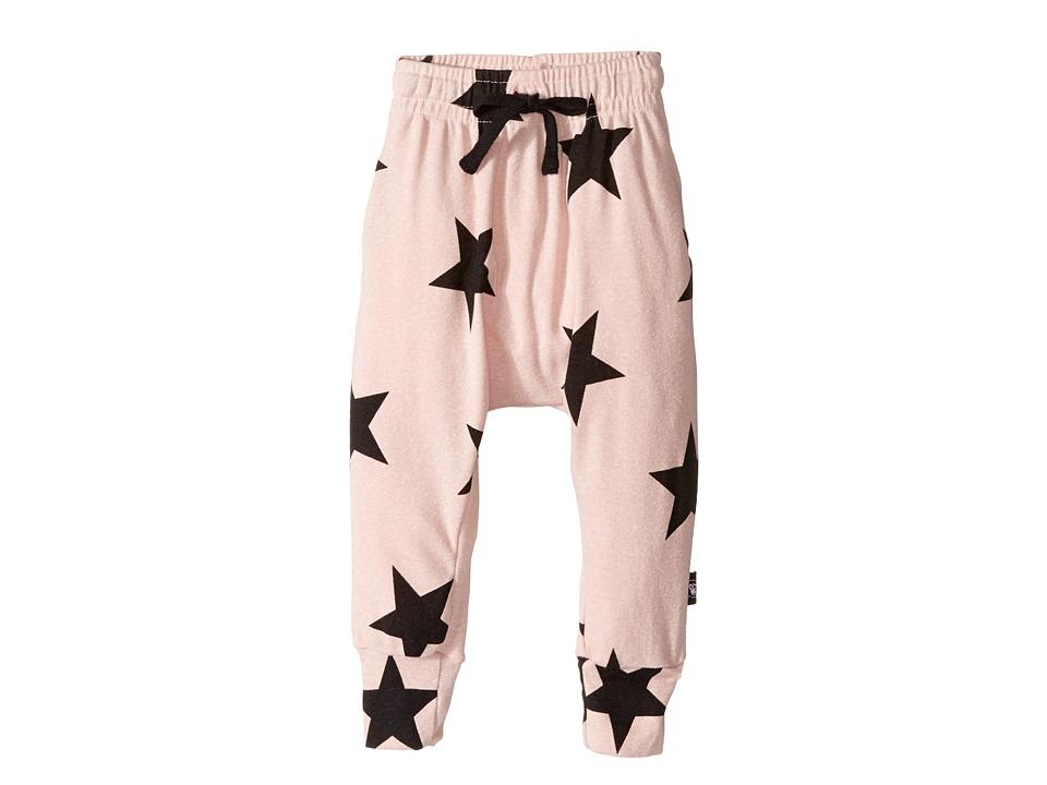 Nununu - Star Baggy Pants (Infant/Toddler/Little Kids) (Powder Pink) Kid's Casual Pants