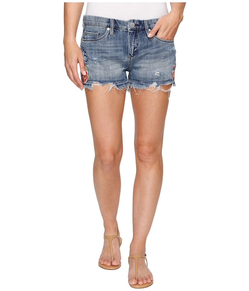 Blank NYC - Denim Embroidered Cut Off Shorts in Wild Child (Wild Child) Women's Shorts
