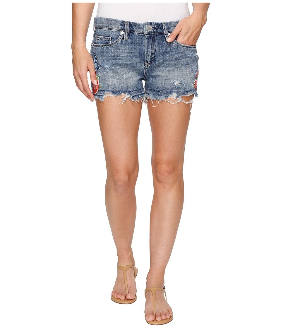 Blank NYC - Denim Embroidered Cut Off Shorts in Wild Child (Wild Child) Women's Shorts