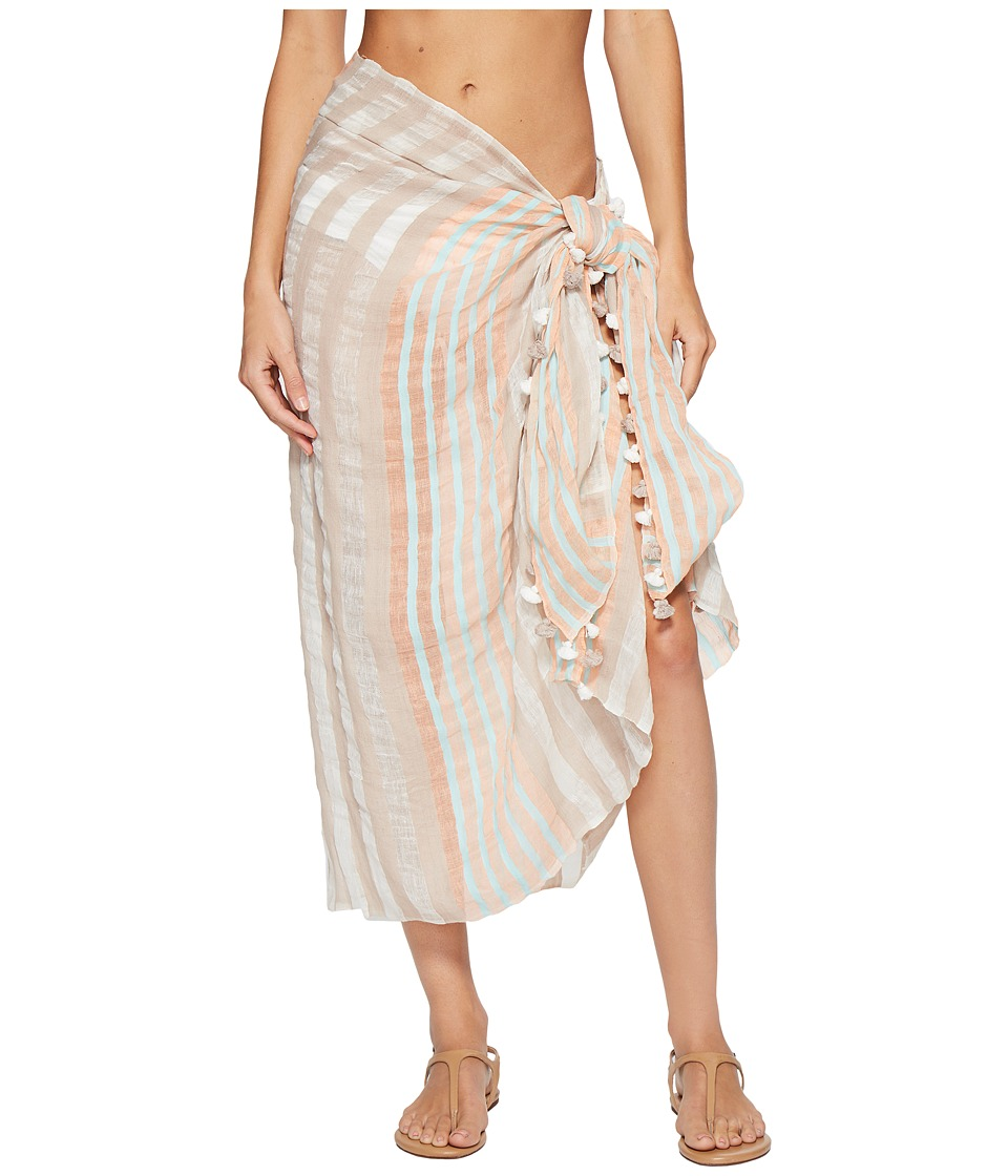 Vitamin A Swimwear - Paradise Bay Pareo Cover-Up (Paradise Bay Pareo) Women's Swimwear