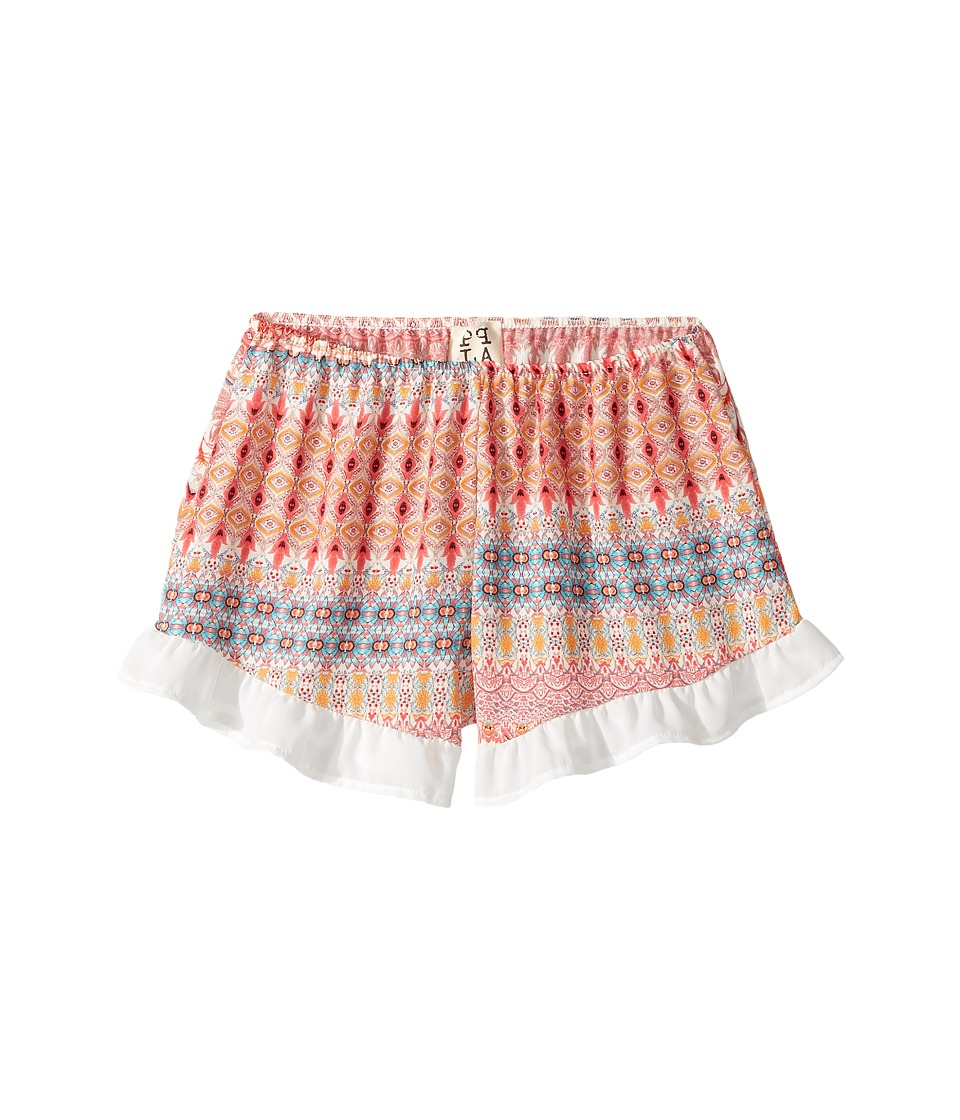 People's Project LA Kids - Zo Shorts (Big Kids) (Pink/Blue) Girl's Shorts