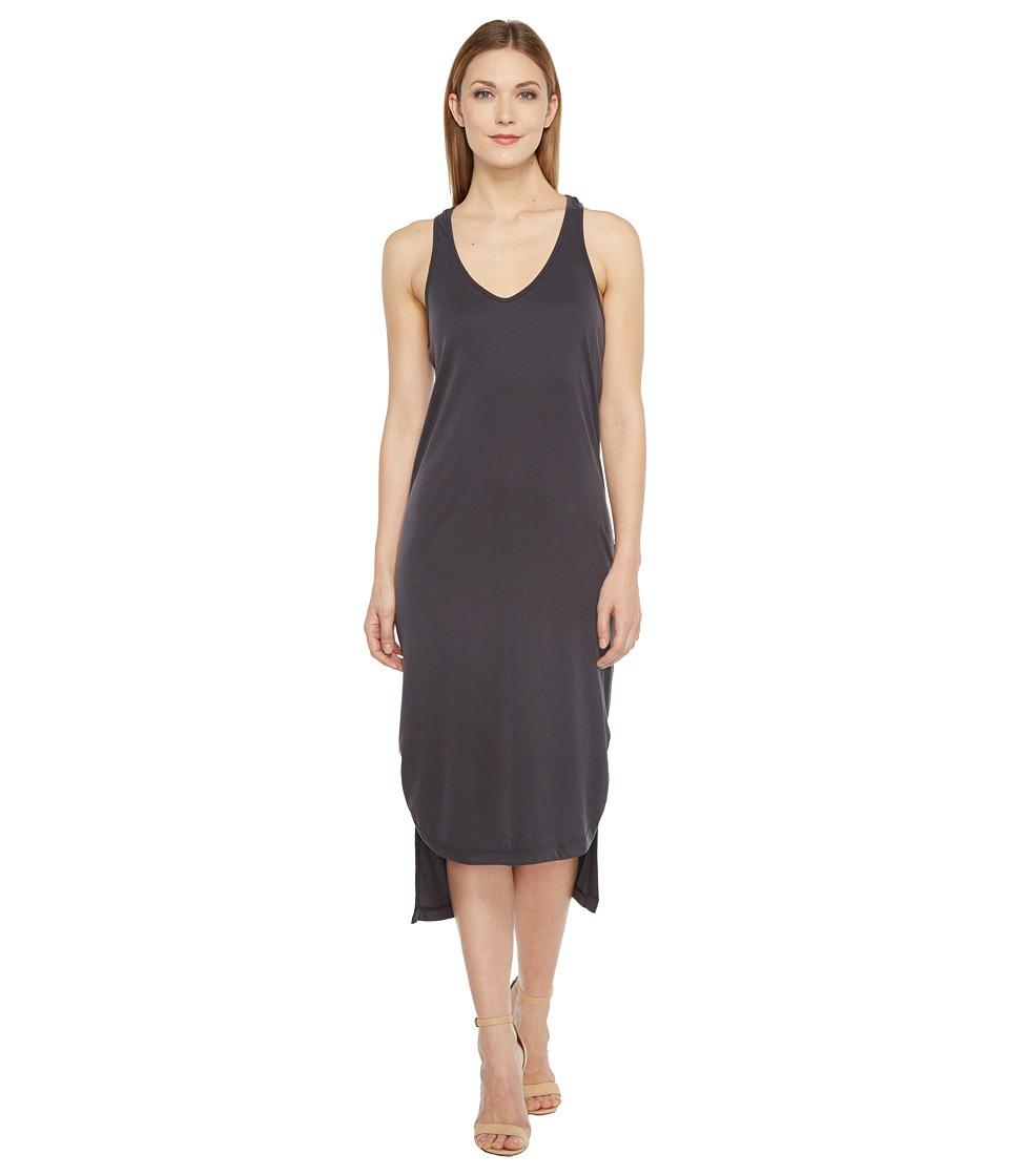 Culture Phit - Maeve Twist Back Maxi Dress (Dusty Black) Women's Dress