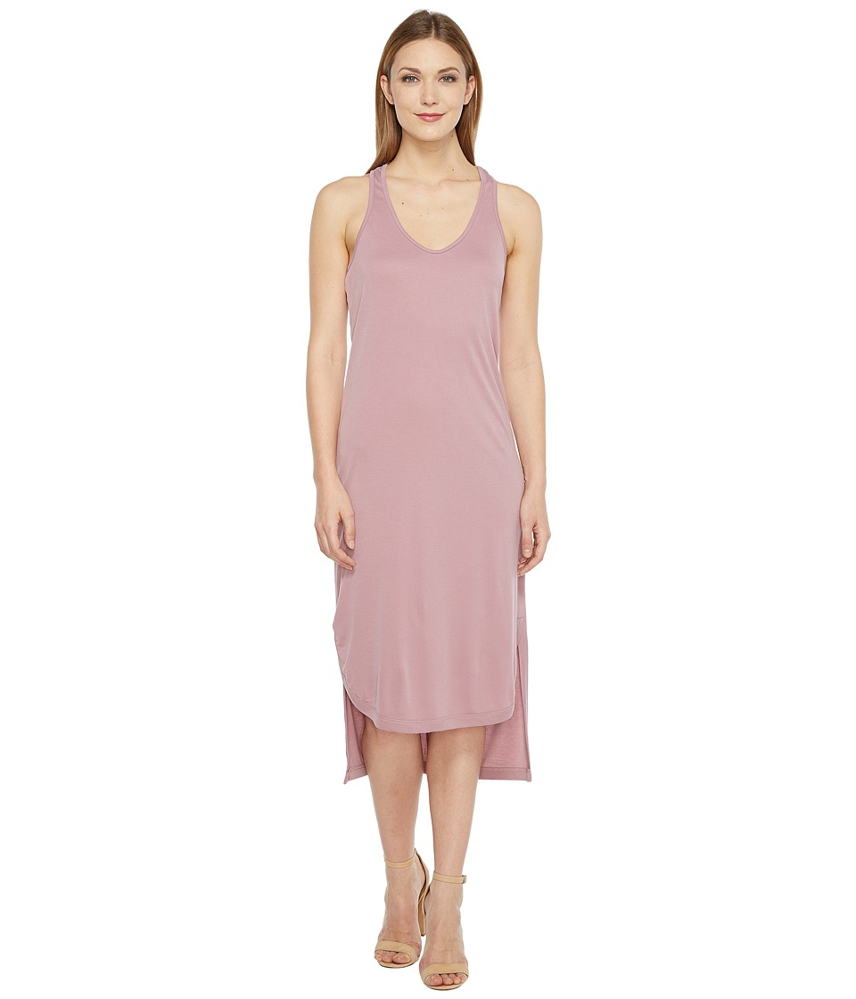 Culture Phit - Maeve Twist Back Maxi Dress (Dusty Mauve) Women's Dress