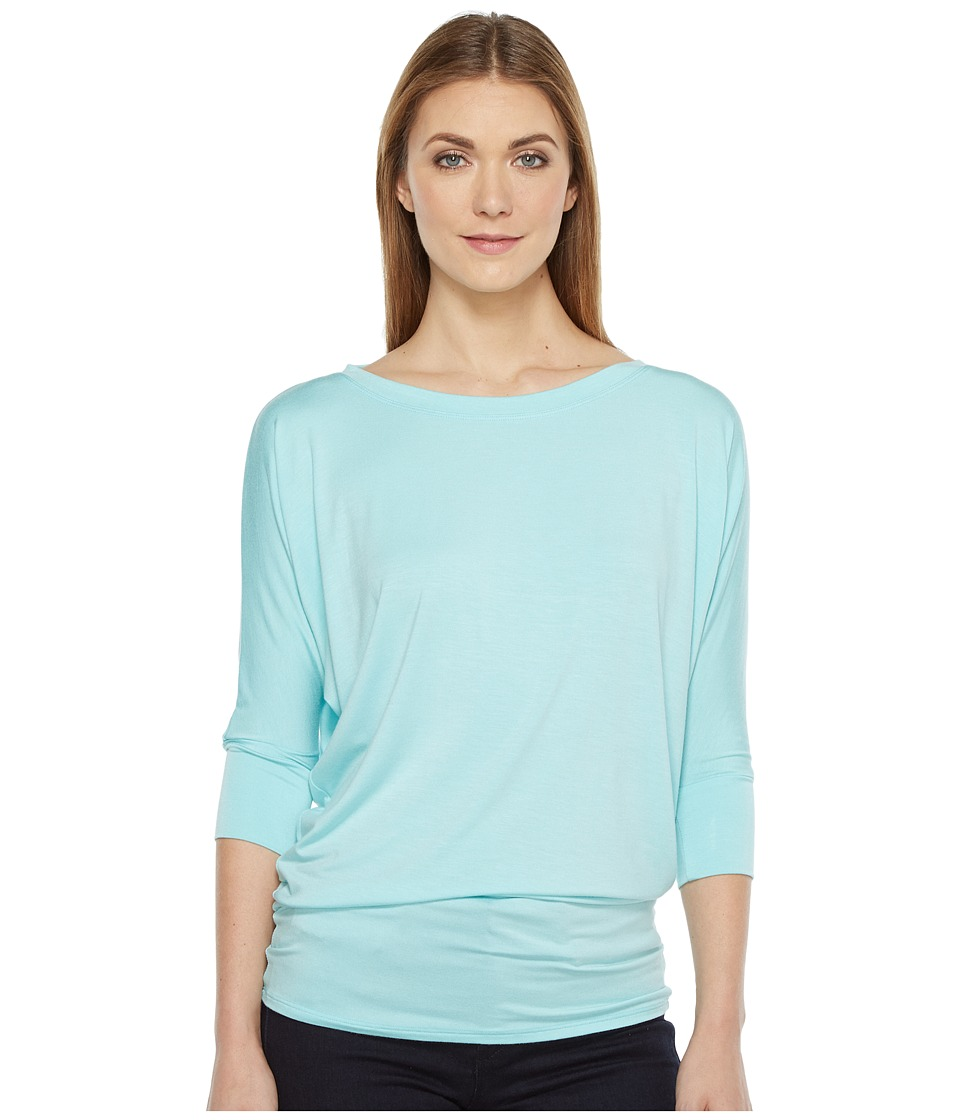 Culture Phit - Lara Modal Top (Sky Blue) Women's T Shirt