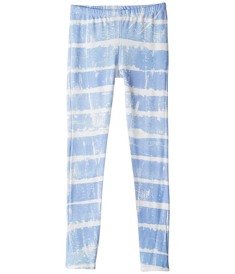 People's Project LA Kids Sky Leggings (Big Kids) (Blue) Girl's Casual Pants