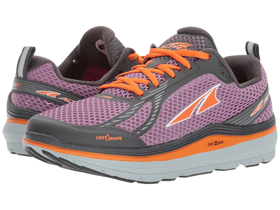 Altra Footwear Paradigm 3 (Purple/Orange) Women