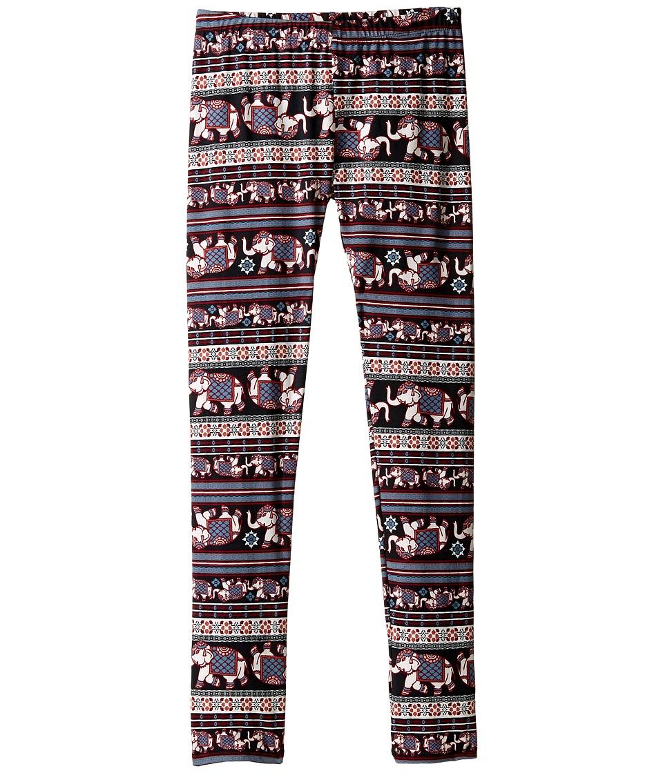 People's Project LA Kids Char Leggings (Big Kids) (Navy) Girl's Casual Pants