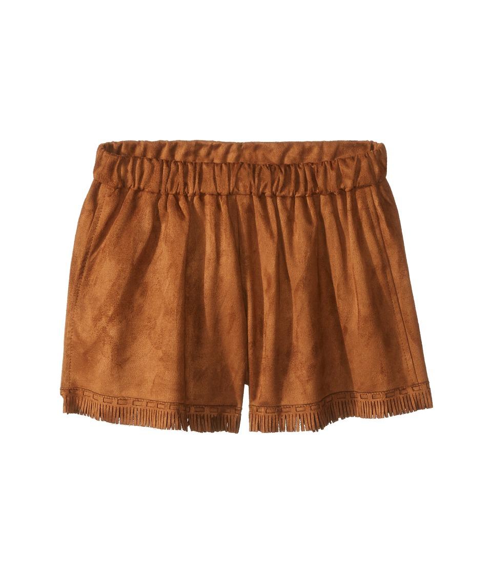 People's Project LA Kids - Zahara Shorts (Big Kids) (Cocoa) Girl's Shorts