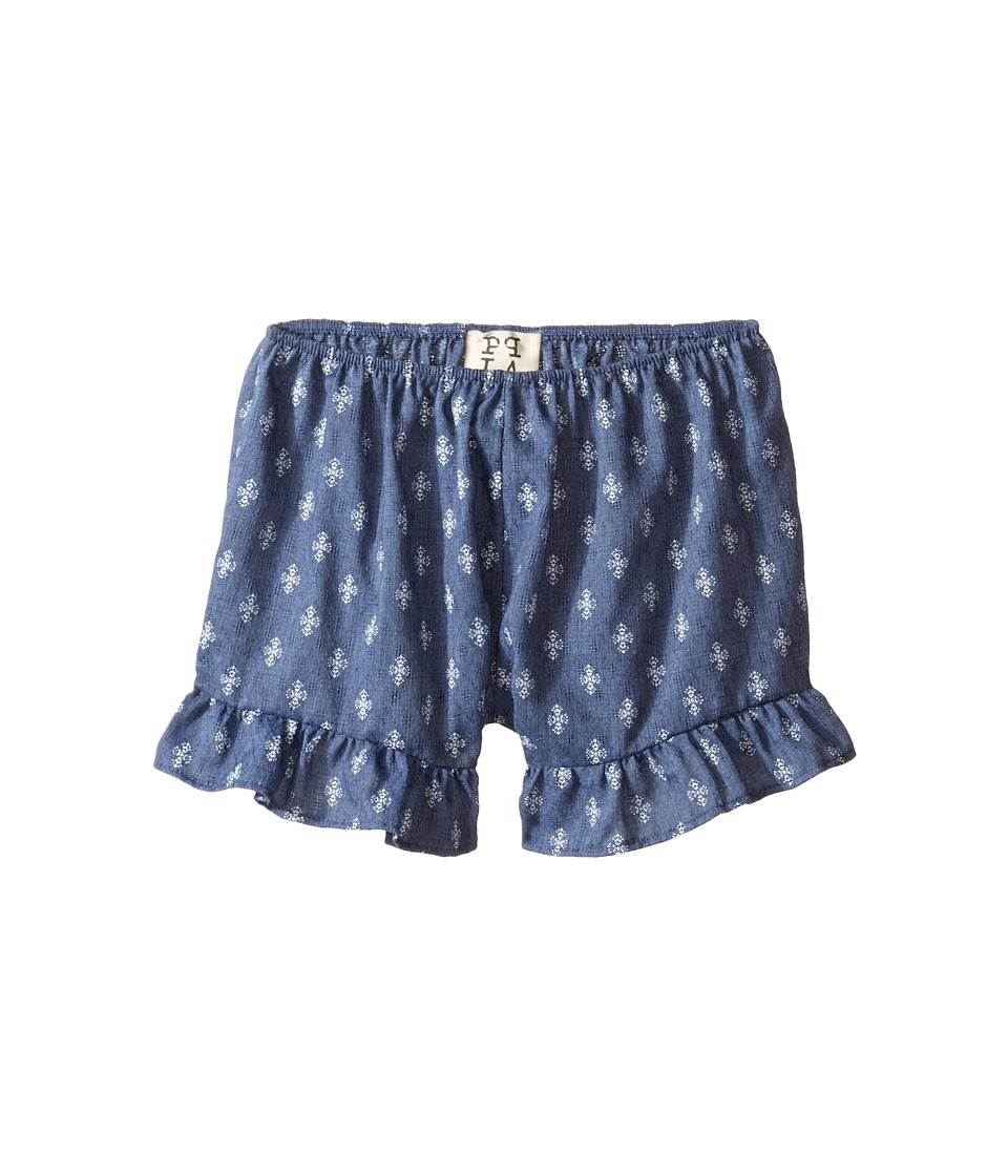 People's Project LA Kids - Hanny Shorts (Big Kids) (Dark Blue) Girl's Shorts