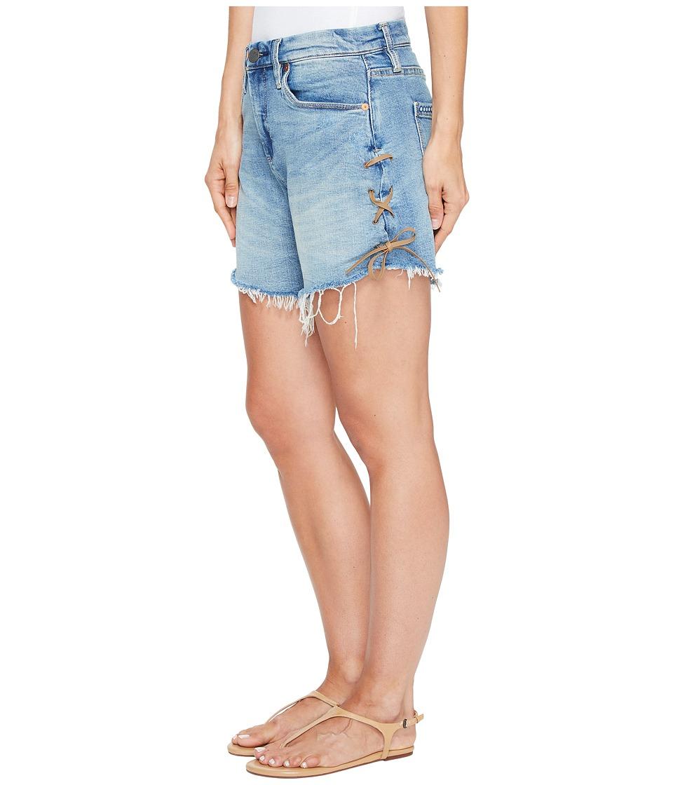 Blank NYC - High-Rise Denim Shorts in Mind Mischief (Mind Mischief) Women's Shorts