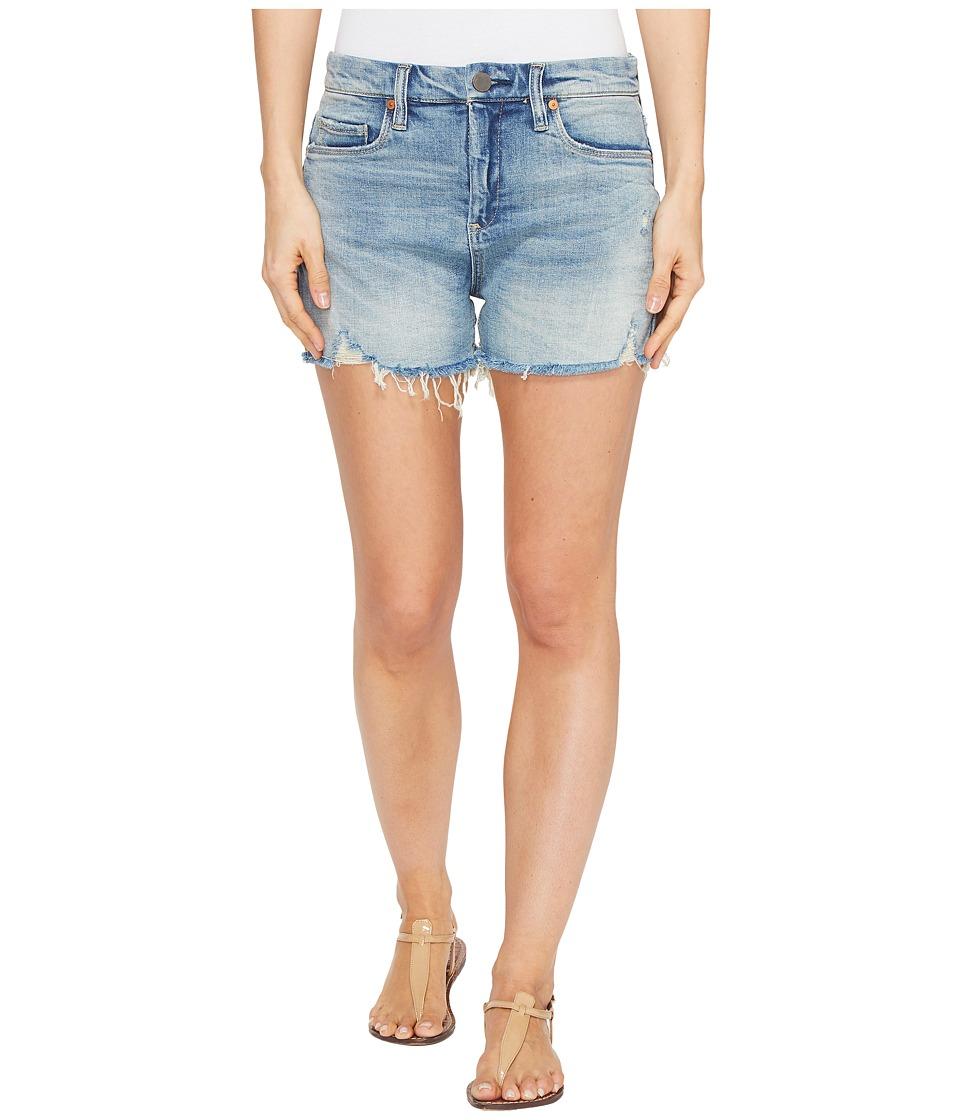 Blank NYC - Denim Shorts with Lacing Detail in Mind Mischief (Mind Mischief) Women's Shorts