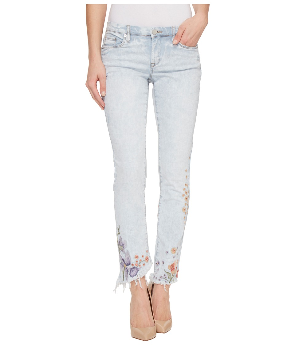 Blank NYC Denim Embroidered Skinny in Late Bloomer (Late Bloomer) Women