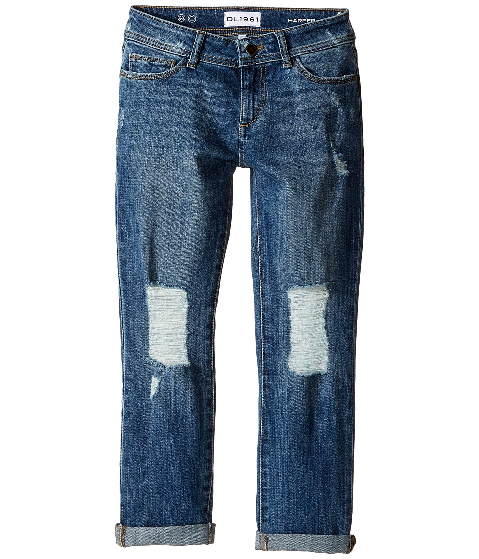 DL1961 Kids - Harper Boyfriend Jeans in Collision (Big Kids) (Collision) Girl's Jeans