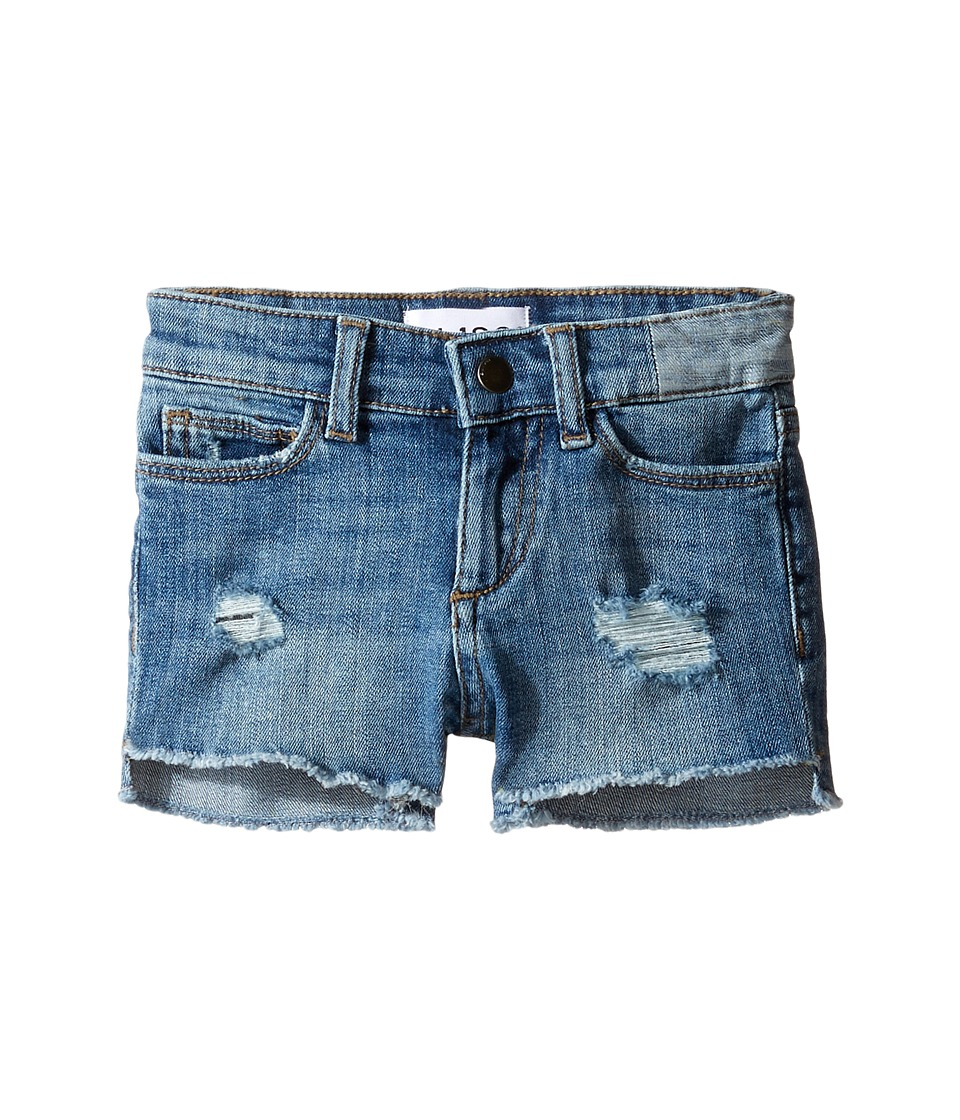 DL1961 Kids - Lucy Cutoff Shorts in Needle (Toddler/Little Kids) (Needle) Girl's Shorts
