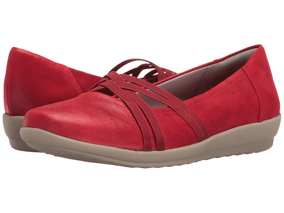 Easy Spirit - Aubree (Red Fabric) Women's Shoes