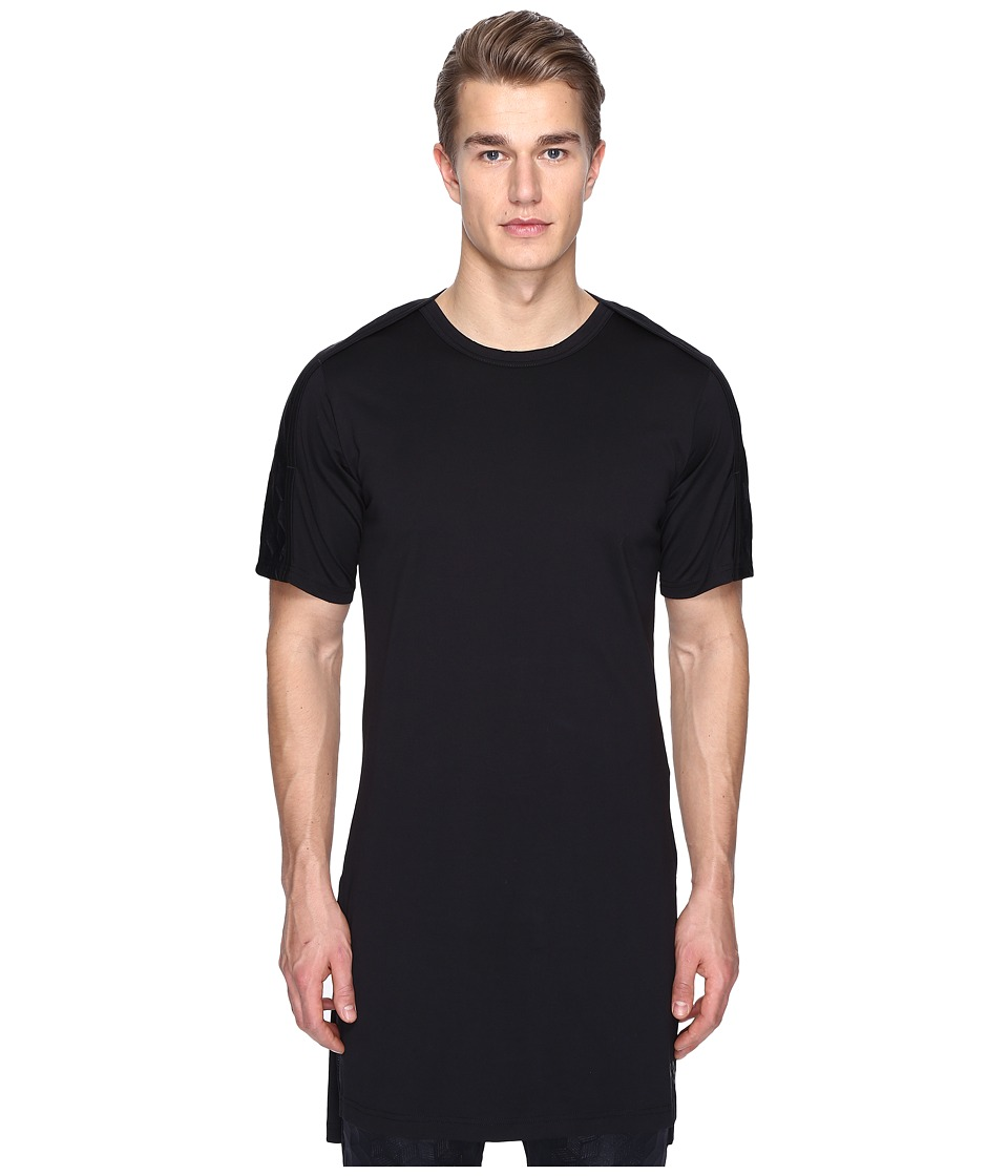adidas Y-3 by Yohji Yamamoto - M 3D Short Sleeve Tee (Black) Men's T Shirt