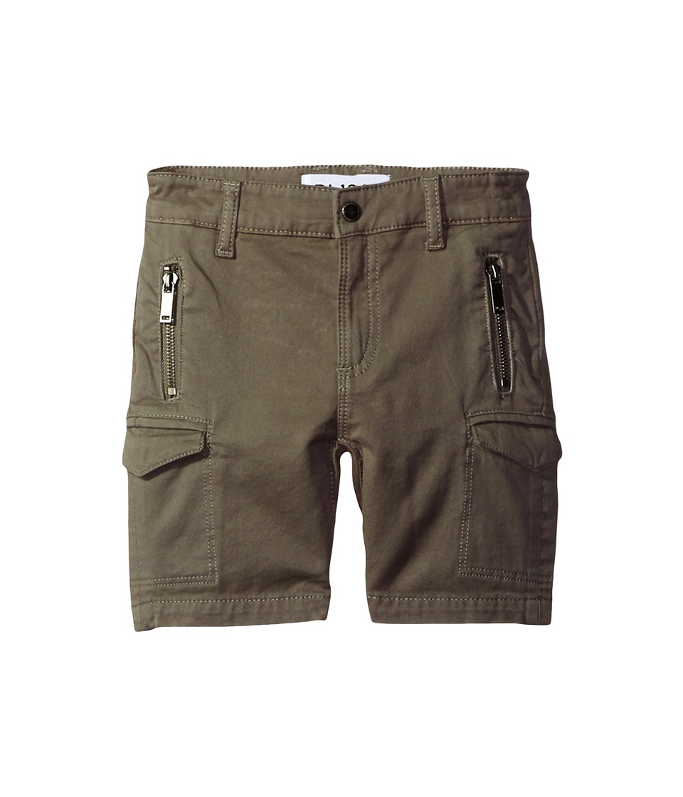 DL1961 Kids - Finn Shorts with Cargo Pockets in Patrol (Toddler/Little Kids/Big Kids) (Patrol) Boy's Shorts