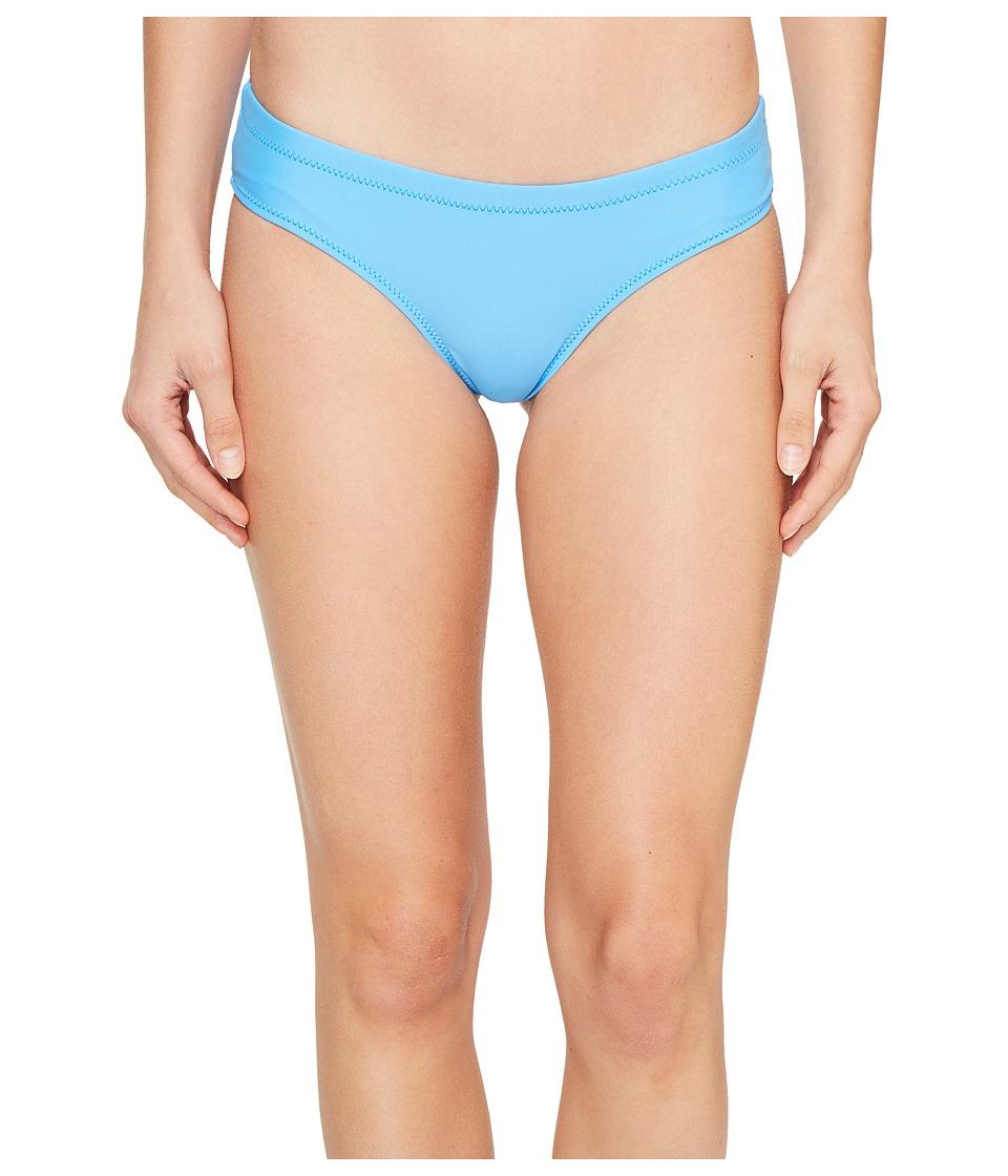Volcom - Simply Solid Cheeky Bottom (Coastal Blue) Women's Swimwear