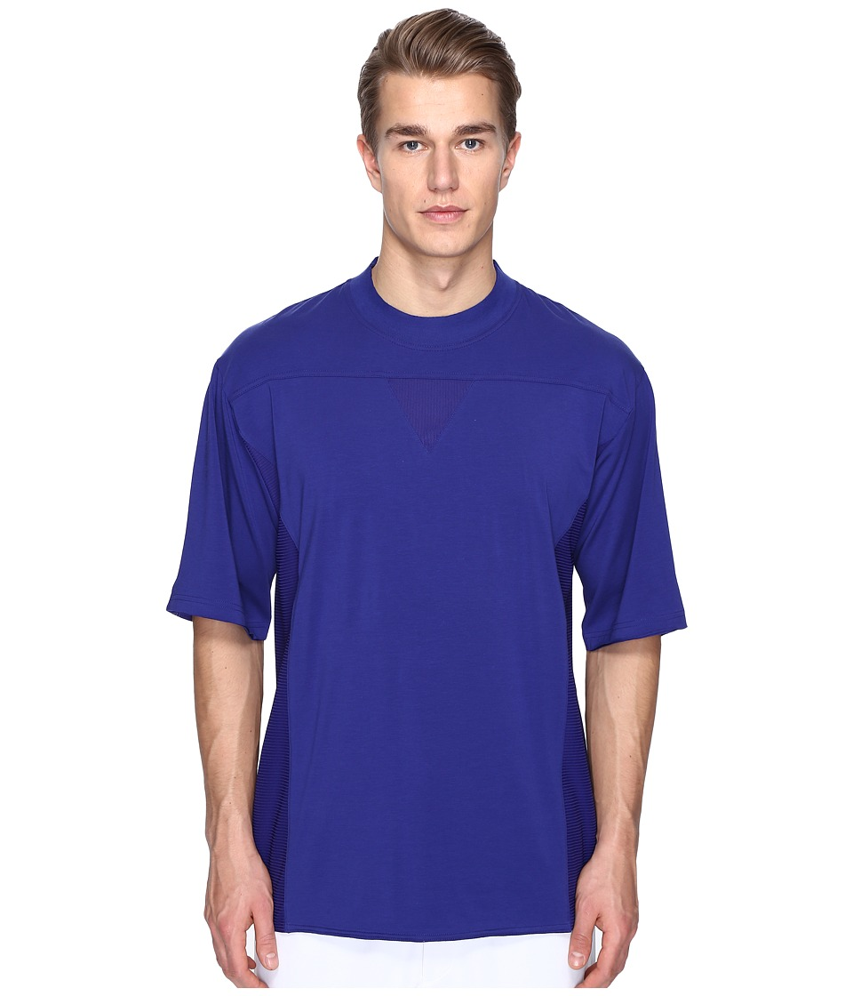 adidas Y-3 by Yohji Yamamoto - M Nomad Short Sleeve Tee (Amazon Purple F14) Men's T Shirt