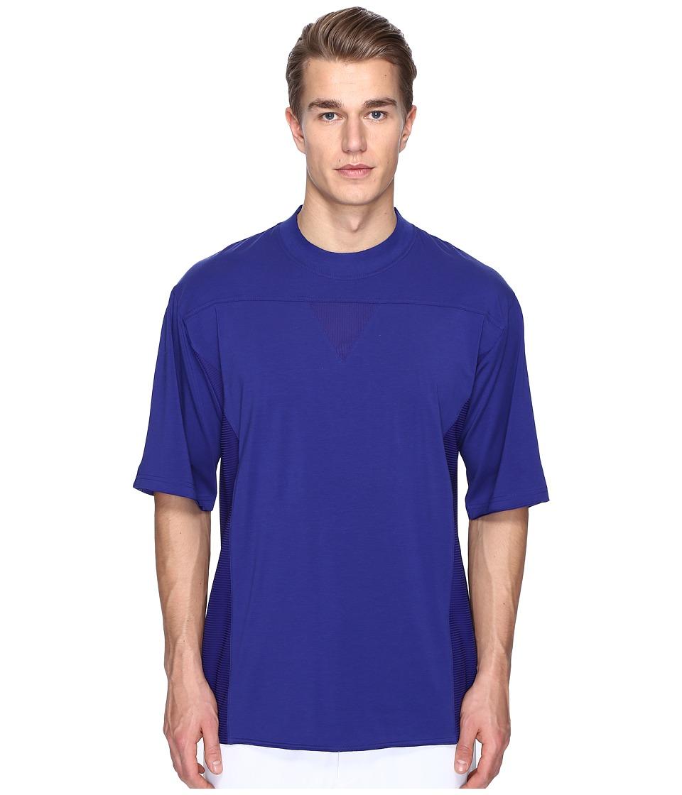 adidas Y-3 by Yohji Yamamoto - M Nomad Short Sleeve Tee (Amazon Purple F14) Men's T Shirt