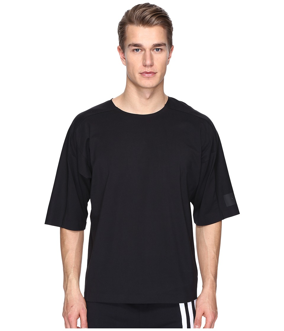 adidas Y-3 by Yohji Yamamoto - M Skylight Short Sleeve Tee (Black) Men's T Shirt