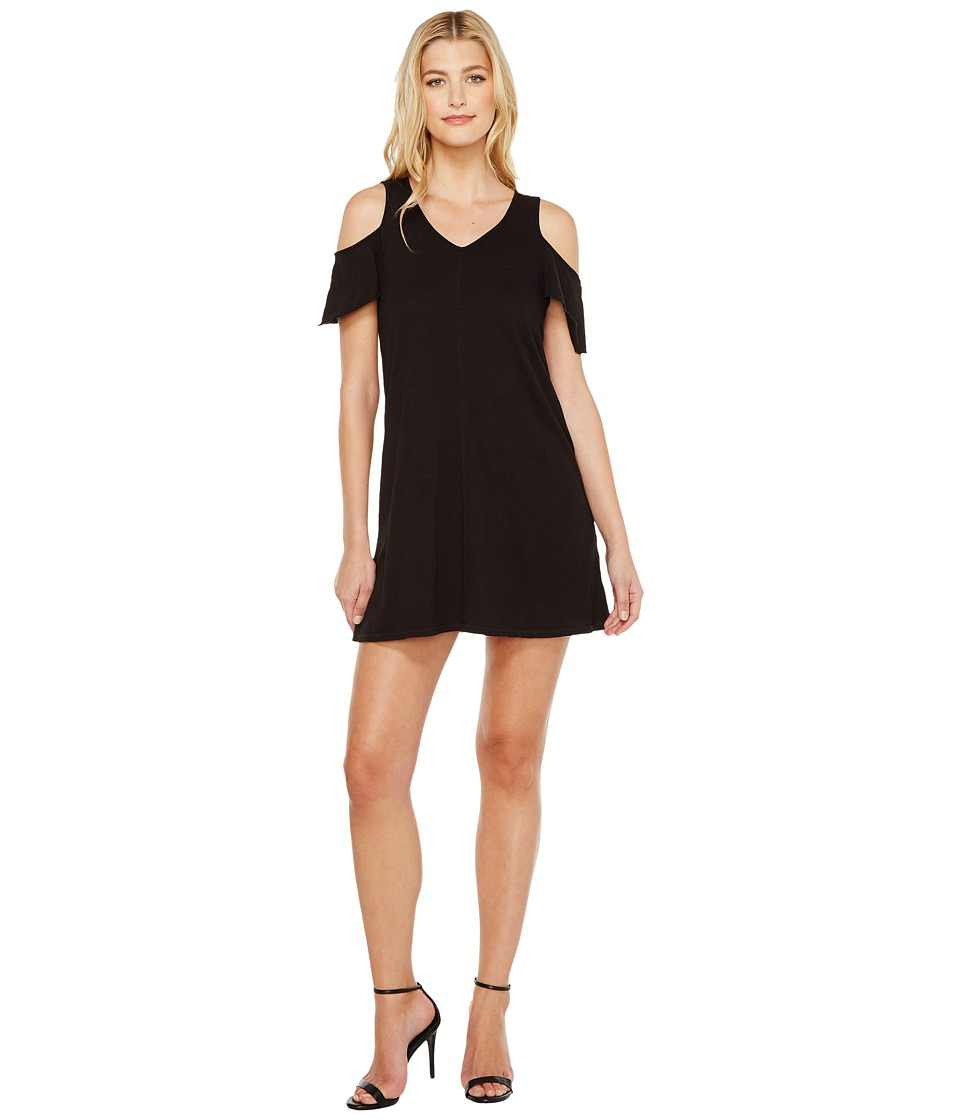 Sanctuary - Jolene Bare Shoulder Dress (Black) Women's Dress