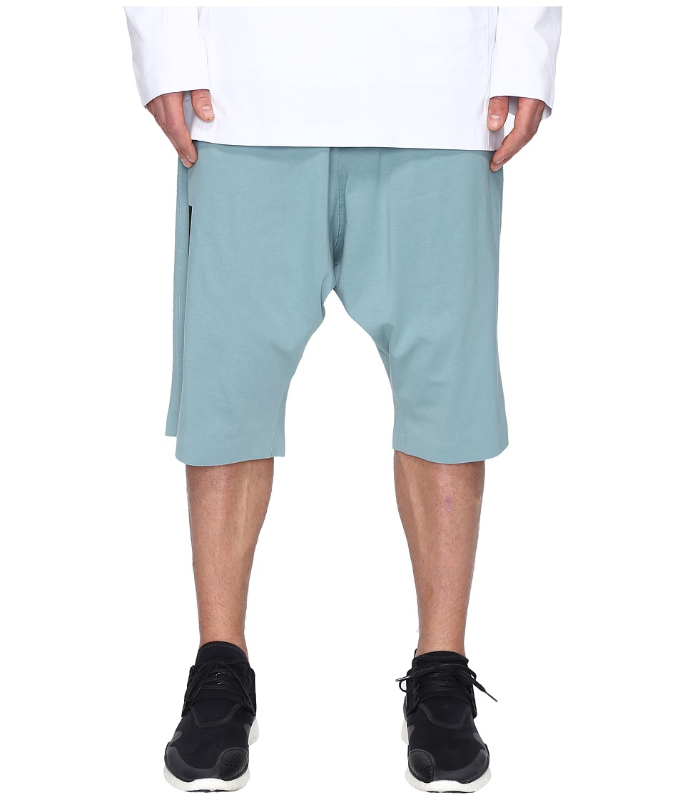 adidas Y-3 by Yohji Yamamoto - M Skylight Shorts (Vapour Steel F16) Men's Shorts