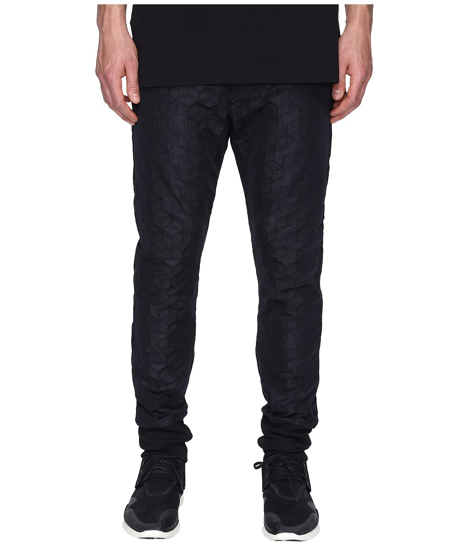 adidas Y-3 by Yohji Yamamoto - M Spacer Track Pants (Black) Men's Casual Pants