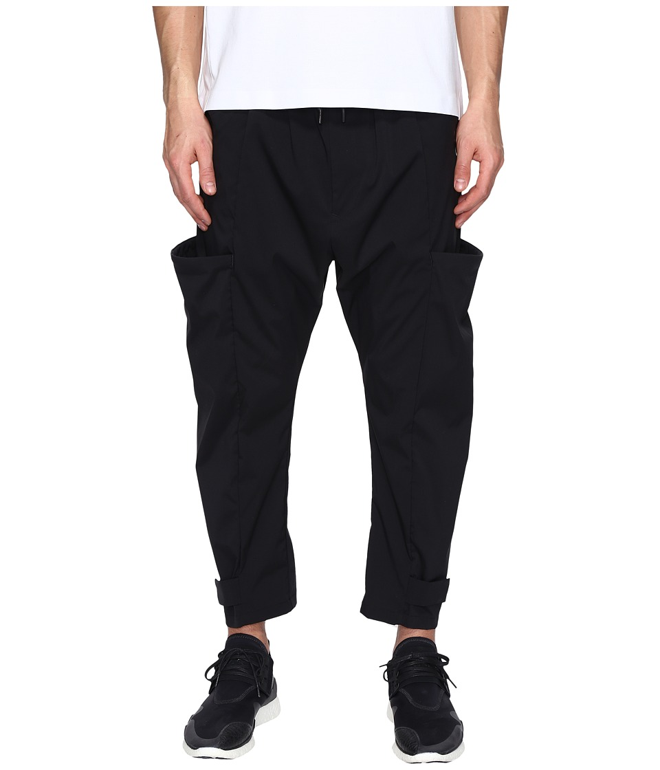 adidas Y-3 by Yohji Yamamoto - M Min Nylon Pants (Black) Men's Casual Pants