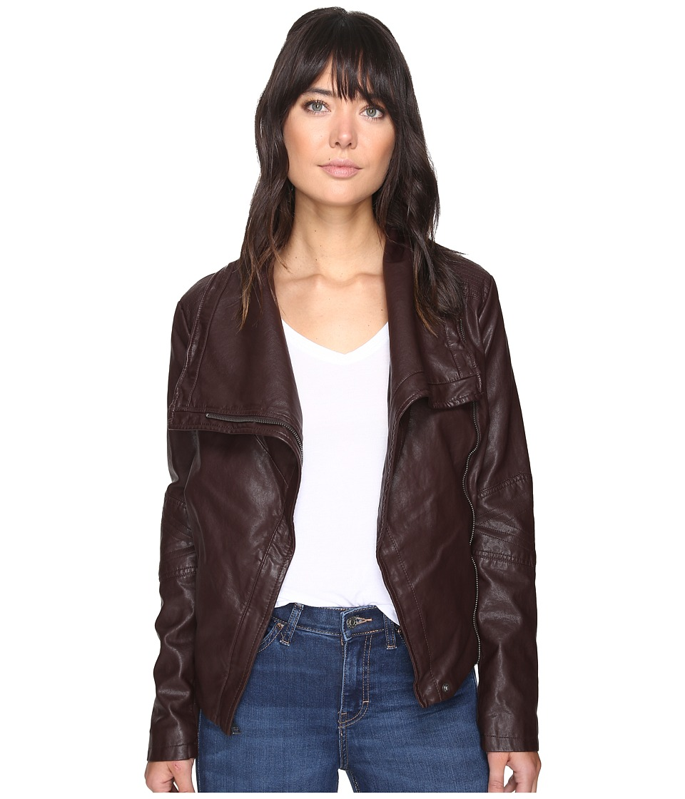 Levi's(r) - Shawl Collar Moto (Port) Women's Coat