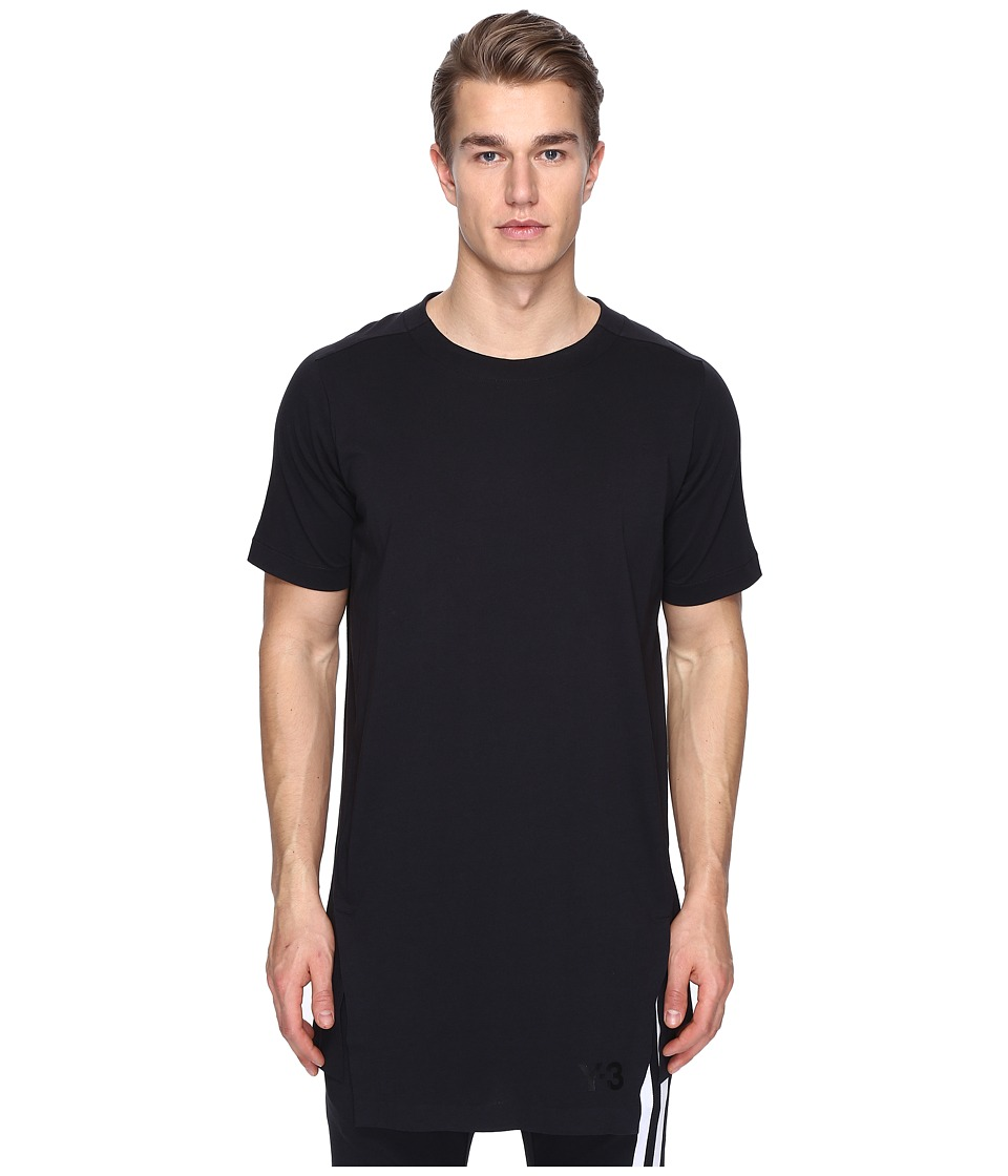 adidas Y-3 by Yohji Yamamoto - X Planet Tee B (Black) Men's T Shirt