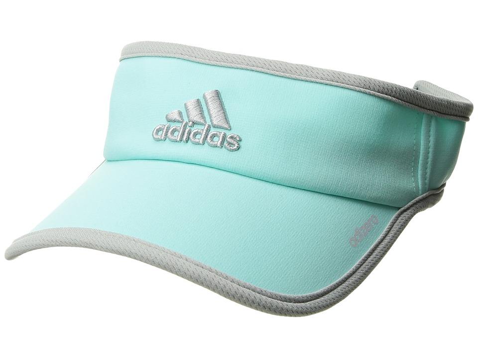 adidas - Adizero II Visor (Energy Aqua/Clear Onix) Casual Visor