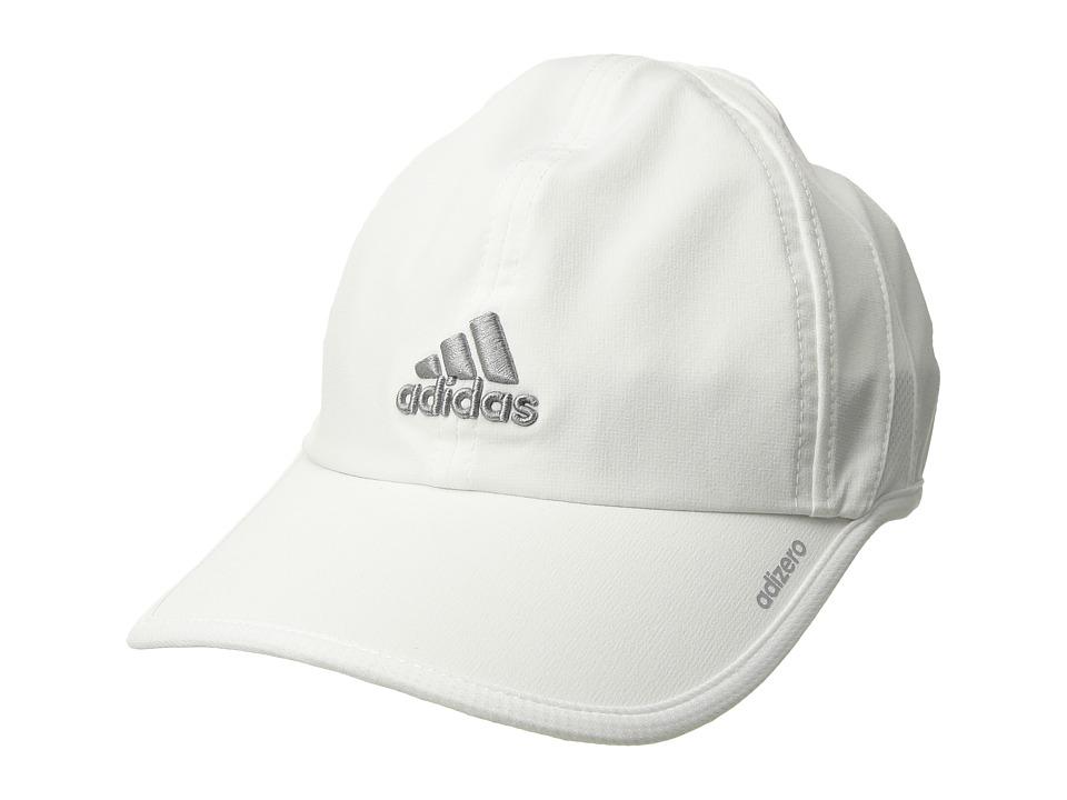 adidas - Adizero II Cap (White/Light Onix) Caps