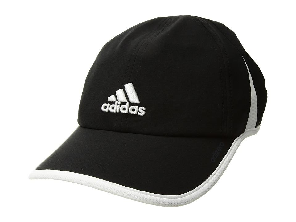 adidas - Adizero II Cap (Black/White) Caps