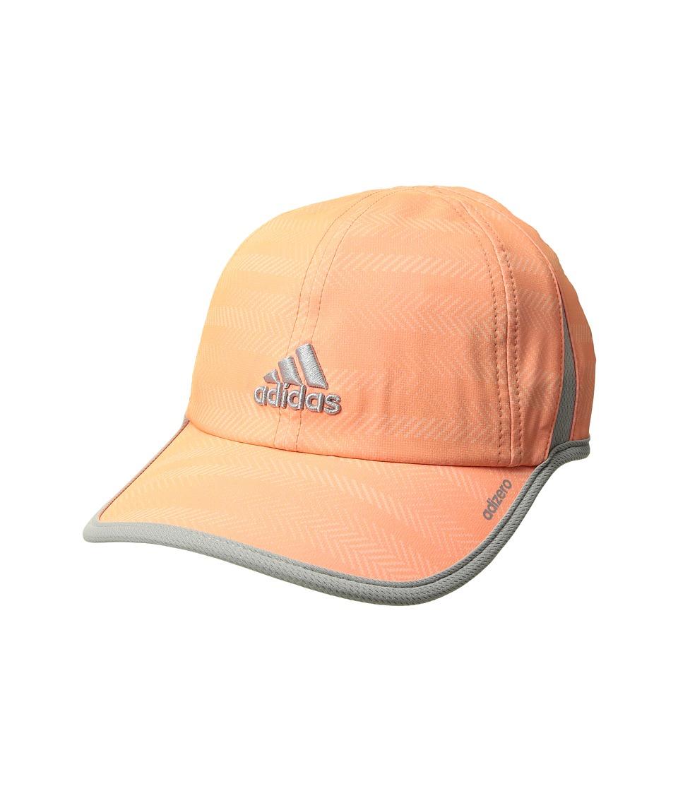 adidas - Adizero Extra Cap (Ratio Print Sun Glow/Clear Onix) Caps