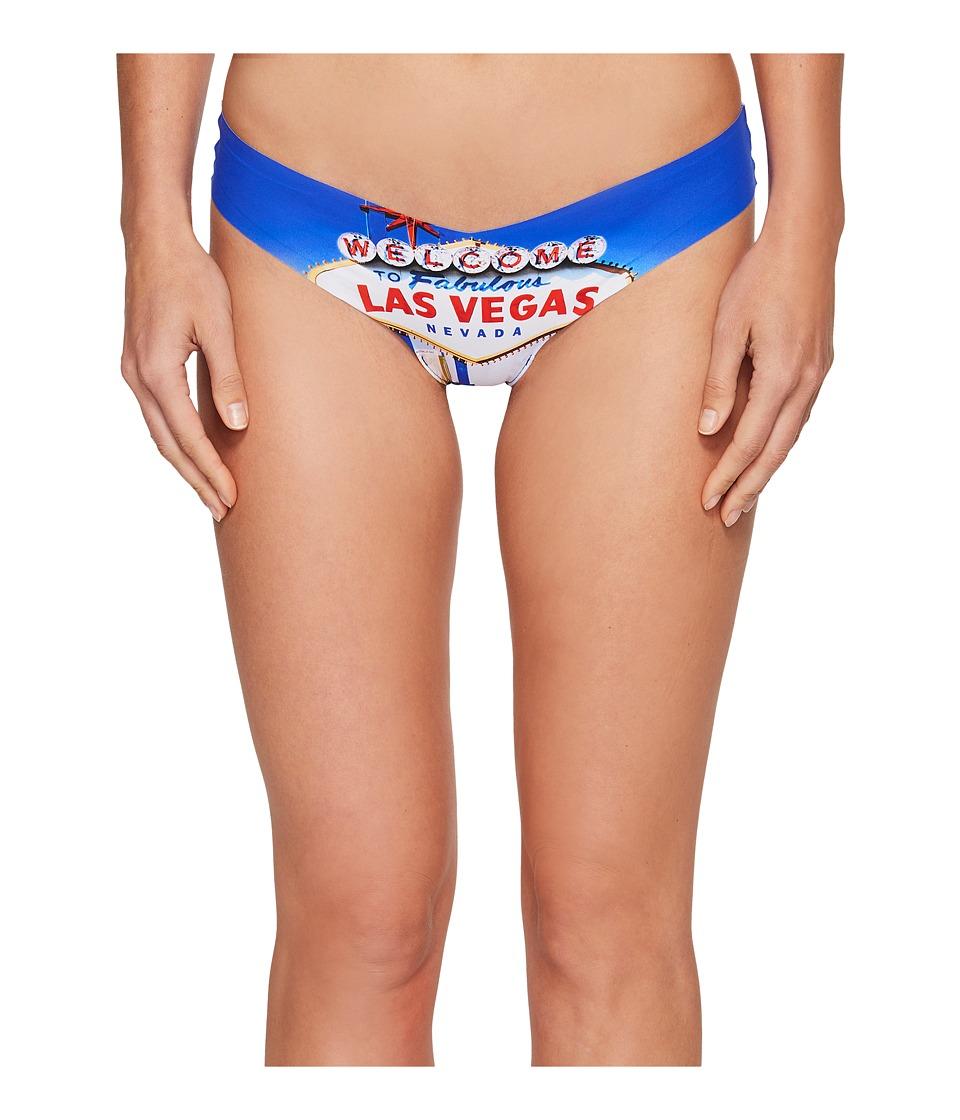 Commando - Print Thong CT18 (Vegas) Women's Underwear