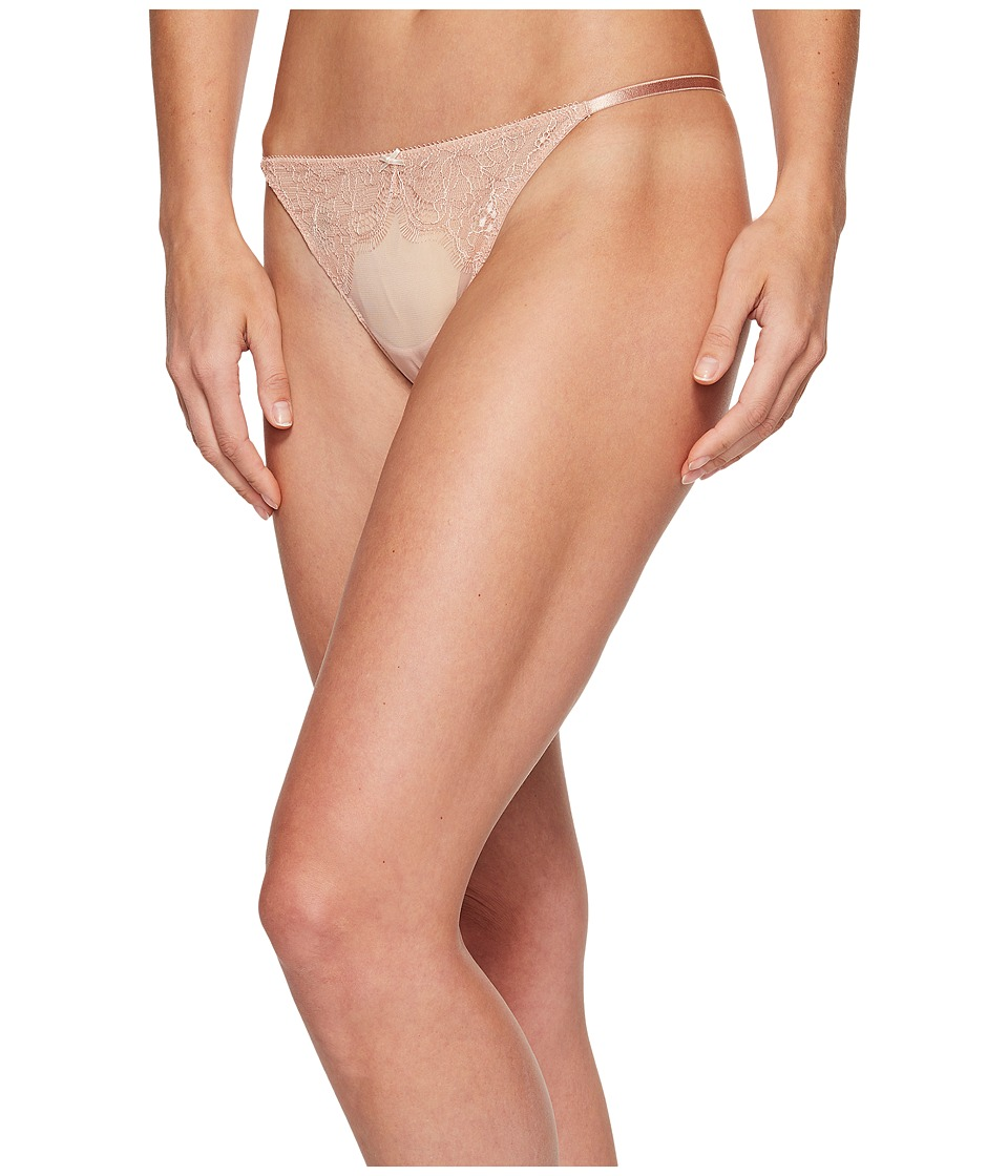 b.tempt'd - b.sultry Thong (Mahogany Rose) Women's Underwear