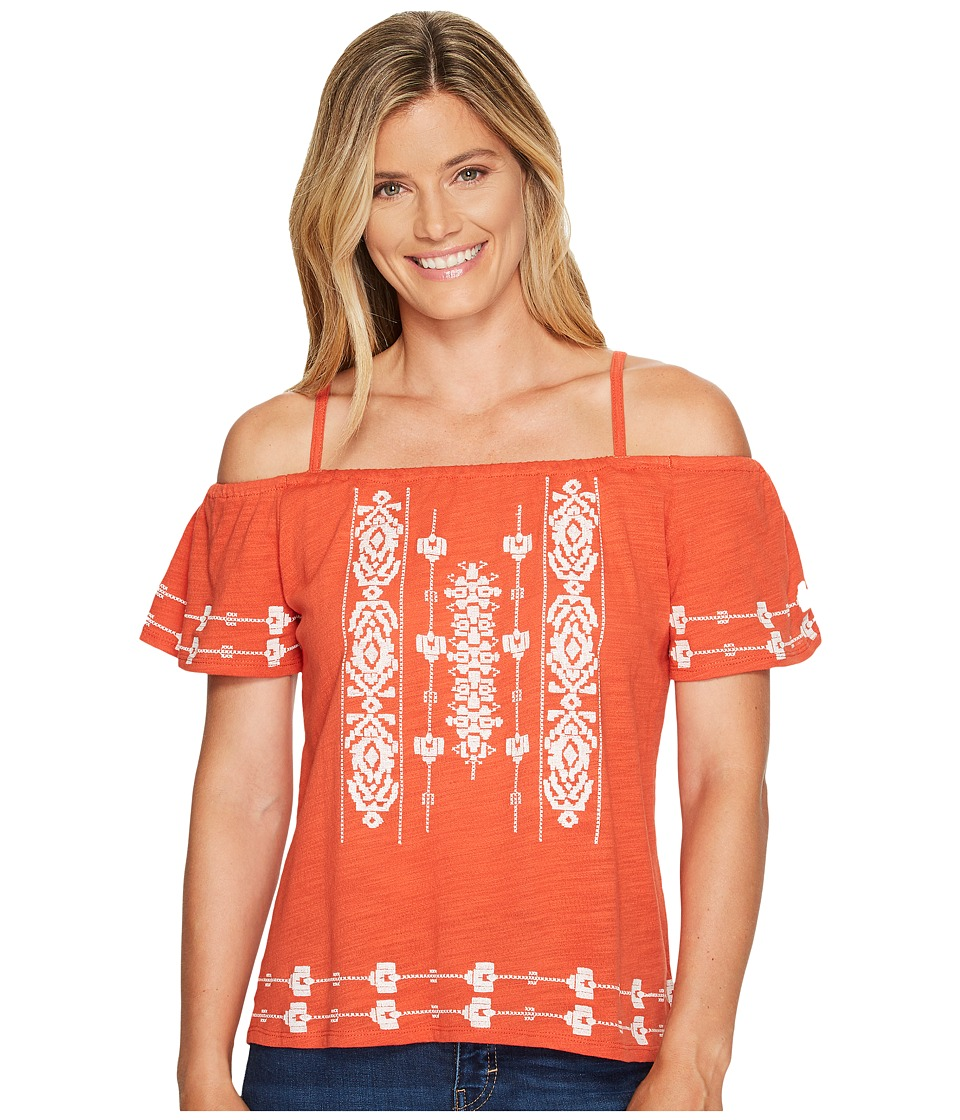 Sanctuary - Magnolia Top (Evening Sun) Women's Short Sleeve Pullover