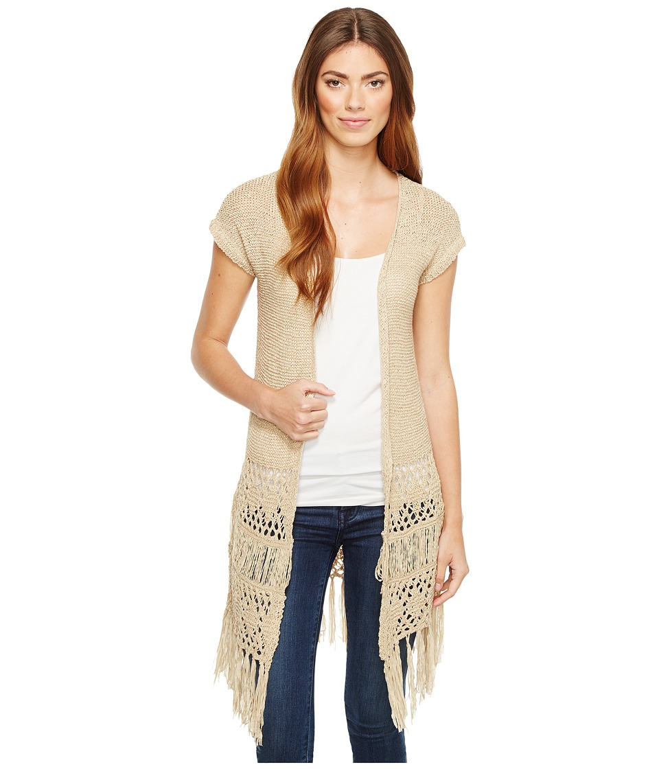 Sanctuary - Evie Cardi (Dark Dune) Women's Sweater