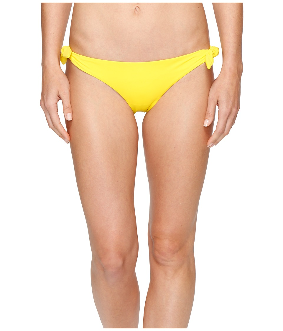 Mara Hoffman - Solid Tie Side Bottom (Yellow) Women's Swimwear