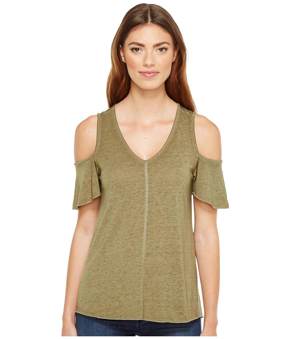 Sanctuary - Dahlia Top (Fatigue) Women's Clothing