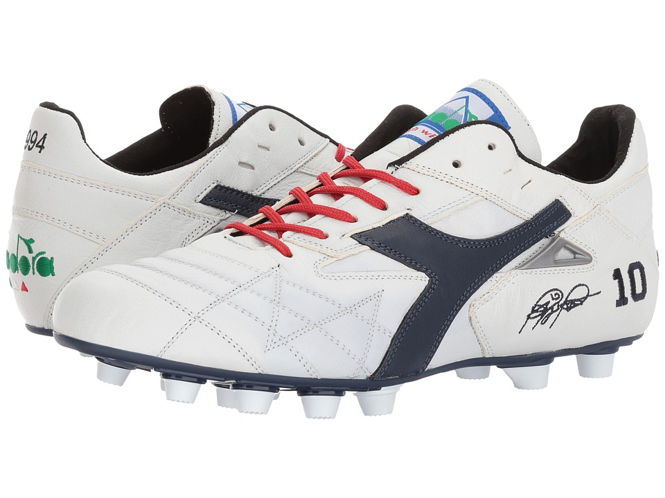 Diadora - M. Winner RB Italy OG (White/Corsair) Soccer Shoes