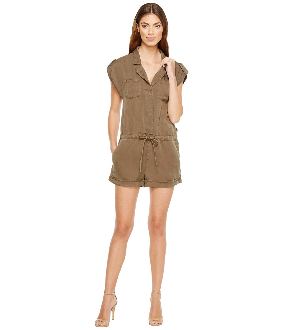 Sanctuary - Adventurous Romper (Fatigue) Women's Jumpsuit & Rompers One Piece