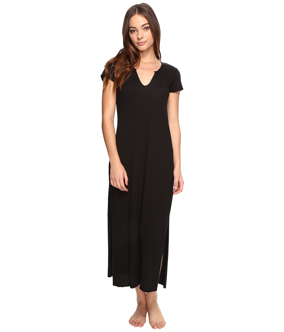 Josie - Easy Breezy Sleepshirt (Black) Women's Pajama